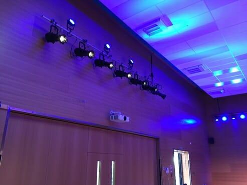 Stylish lighting installation at Netley Primary