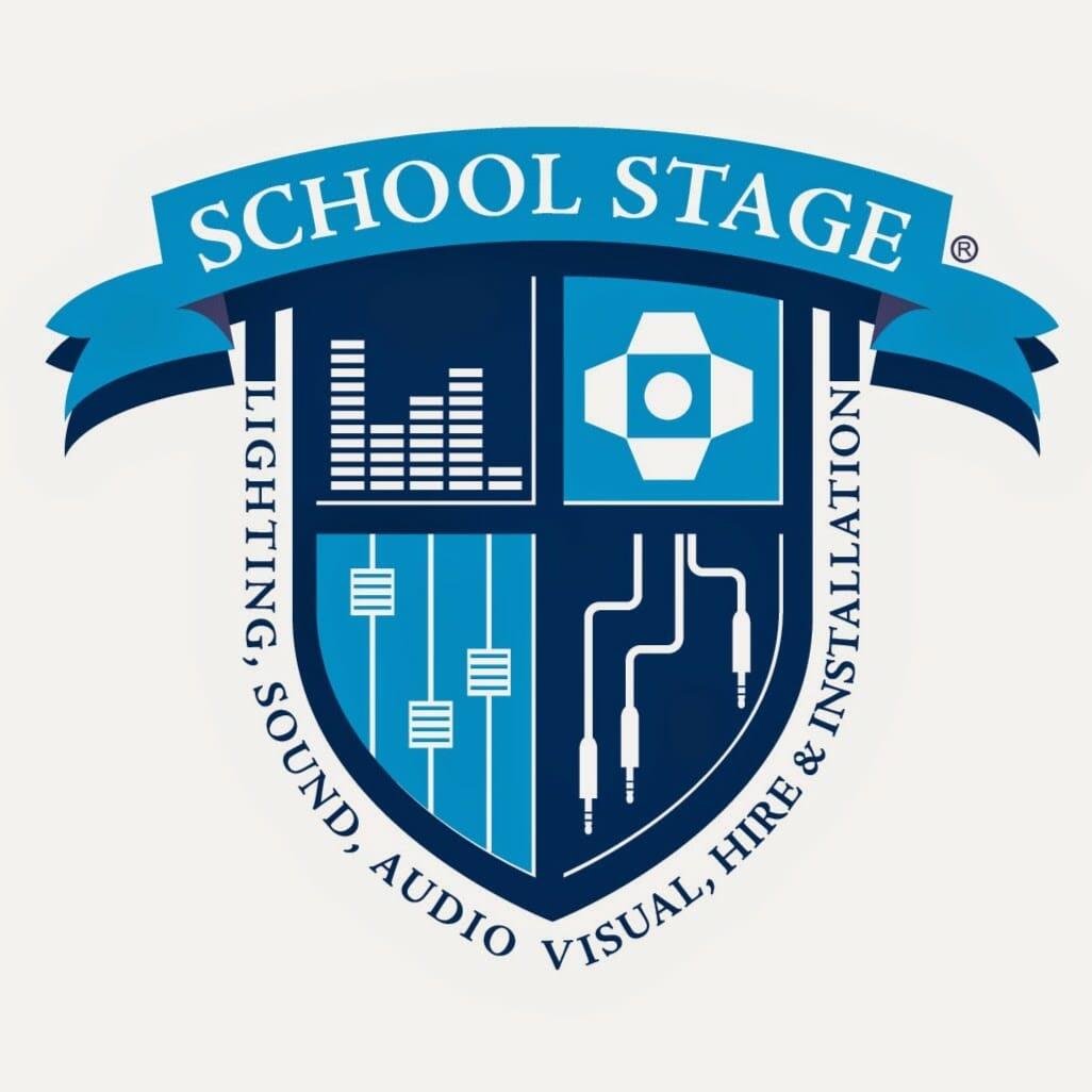 School Stage Social Logo